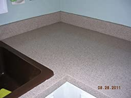 Rustoleum Countertop Paint Amazon : Rust-Oleum Countertop Transformations Kit, Pebbled Ivory ? Customer ...