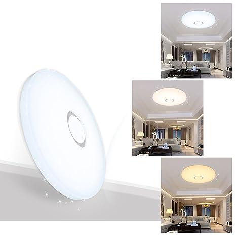 VINGO® 60W LED Moderno Lámpara De Techo LED plafón Regulable Iiluminación Interior Lámpara de salón Pasillo Cocina Dormitorio cocina y cuarto de ninos ...
