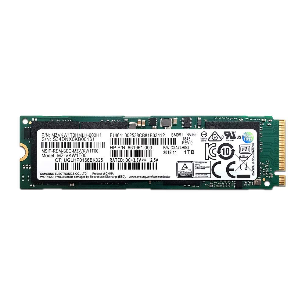 Samsung 1TB SM961 Single Sided Polaris SSD