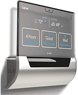 GLAS Smart Thermostat by Johnson Controls, Translucent OLED ...