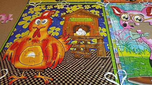 The fun farm 300 XXL pieces jigsaw puzzle JaCaRou Puzzles Inc.