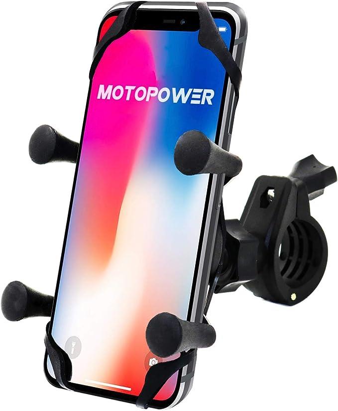 MOTOPOWER Soporte Universal para teléfono móvil para Bicicleta o ...