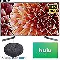 Sony XBR55X900F 55-Inch 4K Ultra HD Smart LED TV (2018 Model) with Google Home Mini (Charcoal) + Hulu $25 Gift Card