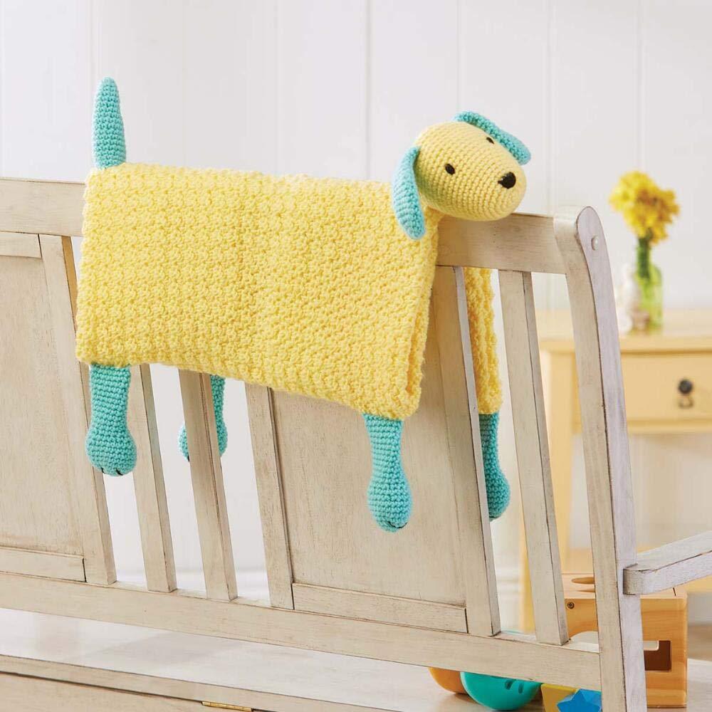 Herrschners® Puppy Friend Blanket Yarn Kit