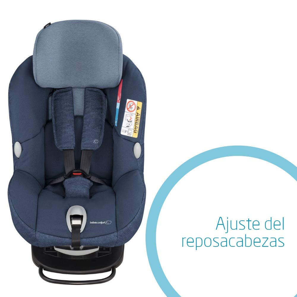 Bébé Confort MILOFIX - Silla de auto de 0 a 4 años, R44/04, 0-18 kg, gr 0+/1, color azul (Nomad Blue)