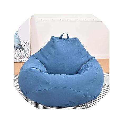 Amazon.com: Puf grande y pequeño para sofá, sin relleno, de ...