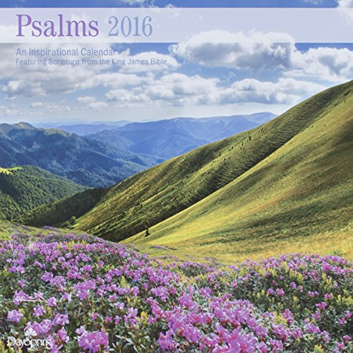DaySpring 12″ x 12″ 2016 12-Month Wall Calendar, Psalms of Praise (73347)