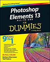 Photoshop Elements 13 All-in-One For Dummies Front Cover