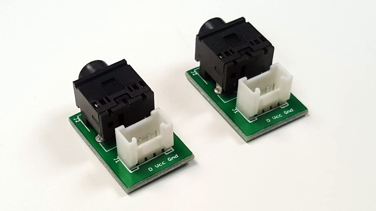Grove to 3.5mm Stereo Jack Adapter by EnviroDIY 2-Pack