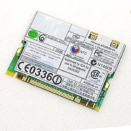 ATHEROS MINI PCI WIRELESS LAN 802.11 A GG WINDOWS VISTA DRIVER