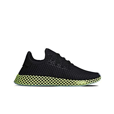 b449f6940 adidas Originals Deerupt Runner (Core Black Ash Blue) Men s Shoes B41755