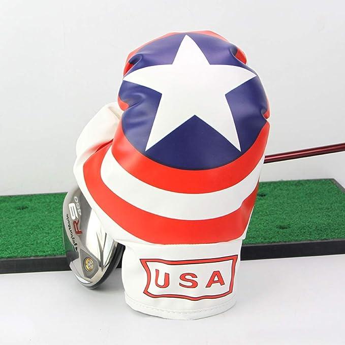 SJJOZZ Golf Club Cubierta multifunción Golf Primera Madera Guantes ...