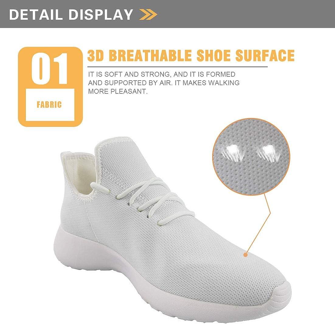 Hugs Idea Chaussures de course à pied souples et confortables et respirantes pour femme Clavier de Piano