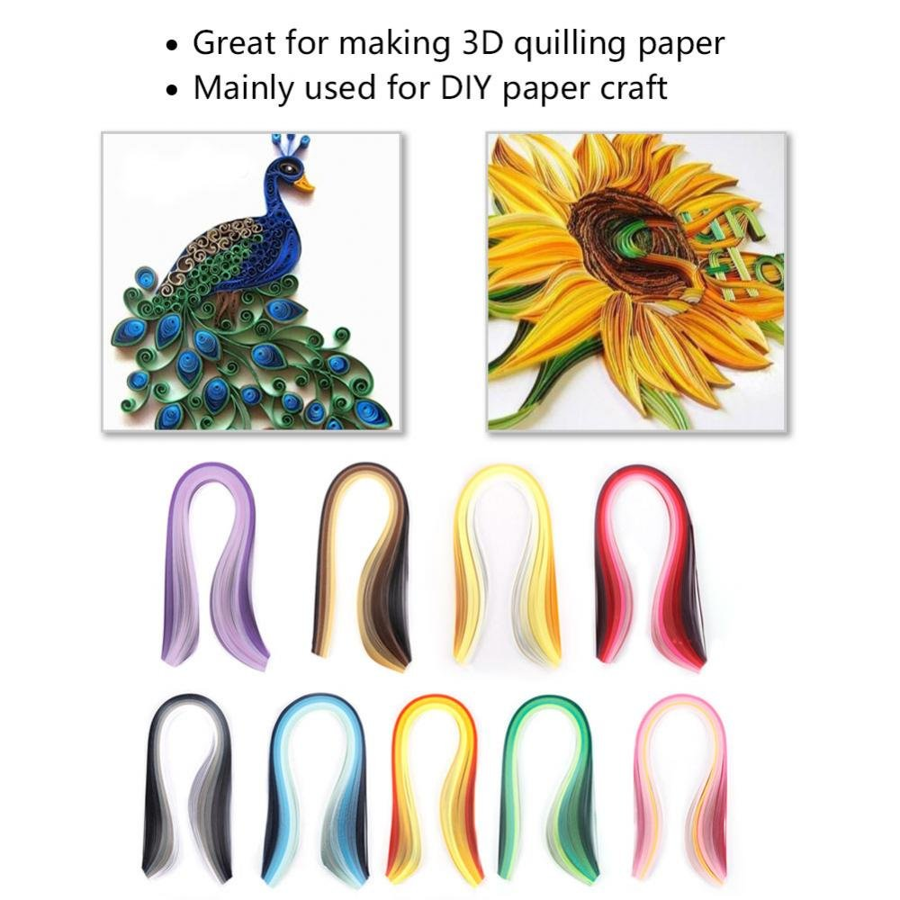 Amazon.com: DIY Paper Quilling Kit, Paper Quilling DIY Craft Kit Board Mould Crimper Comb Tool Set with Making Drawings: Arts, Crafts & Sewing
