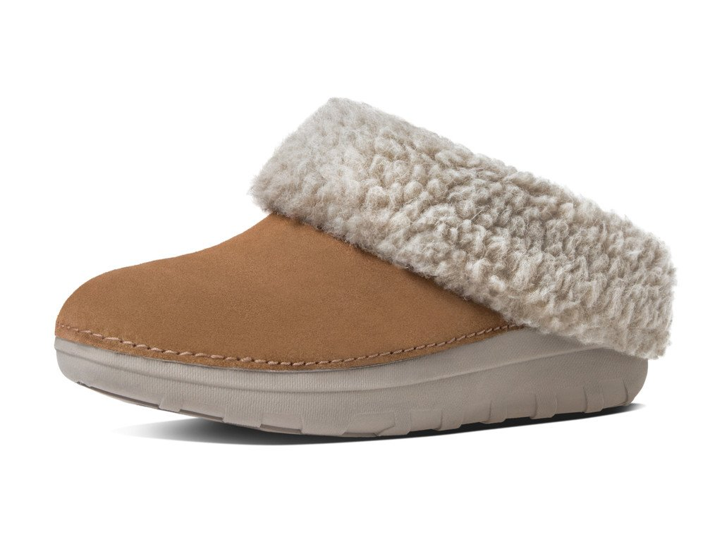 FitFlop New Women's Loaff Snug Slipper Chestnut 6