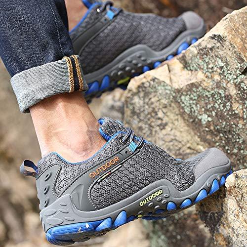 Zapatillas Antideslizante Deporte De Zapatillas SeñOra Zapatillas Senderismo Zapatillas De Gris Gimnasia OHQ Todoterreno Zapatillas De Ocio De De De Exterior p1gwqFn