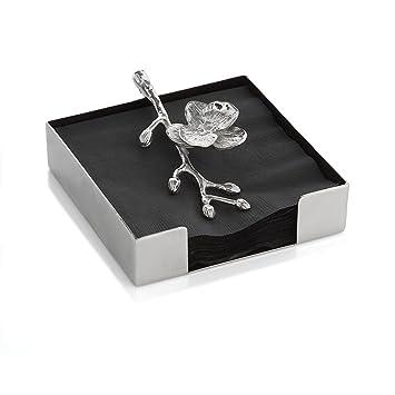 Amazon.com: Michael Aram White Orchid Cocktail Napkin Holder ...