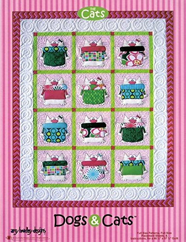 Pattern - Dogs & Cats Quilts - Amy Bradley Designs