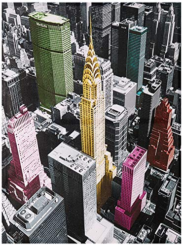 Oriental Furniture High-Lights of New York Canvas Wall Art