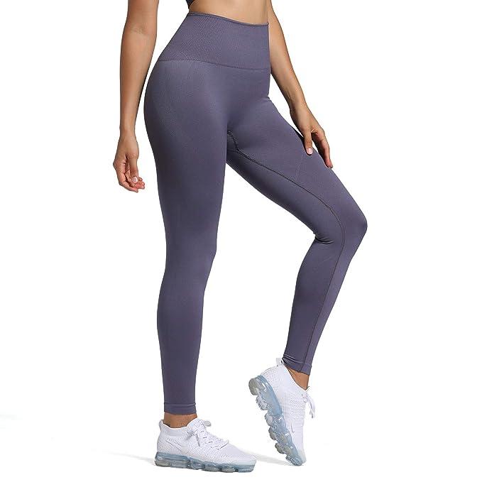 Amazon.com: Leggings para mujer de cintura alta para ...