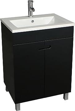 Amazon Com Walcut 24 Inch Bathroom Vanity And Sink Combo Modern