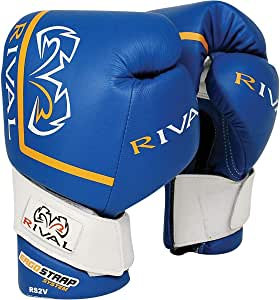 Rival Boxing RS2V High Performance Pro Sparring Gloves - 16 oz - Blue