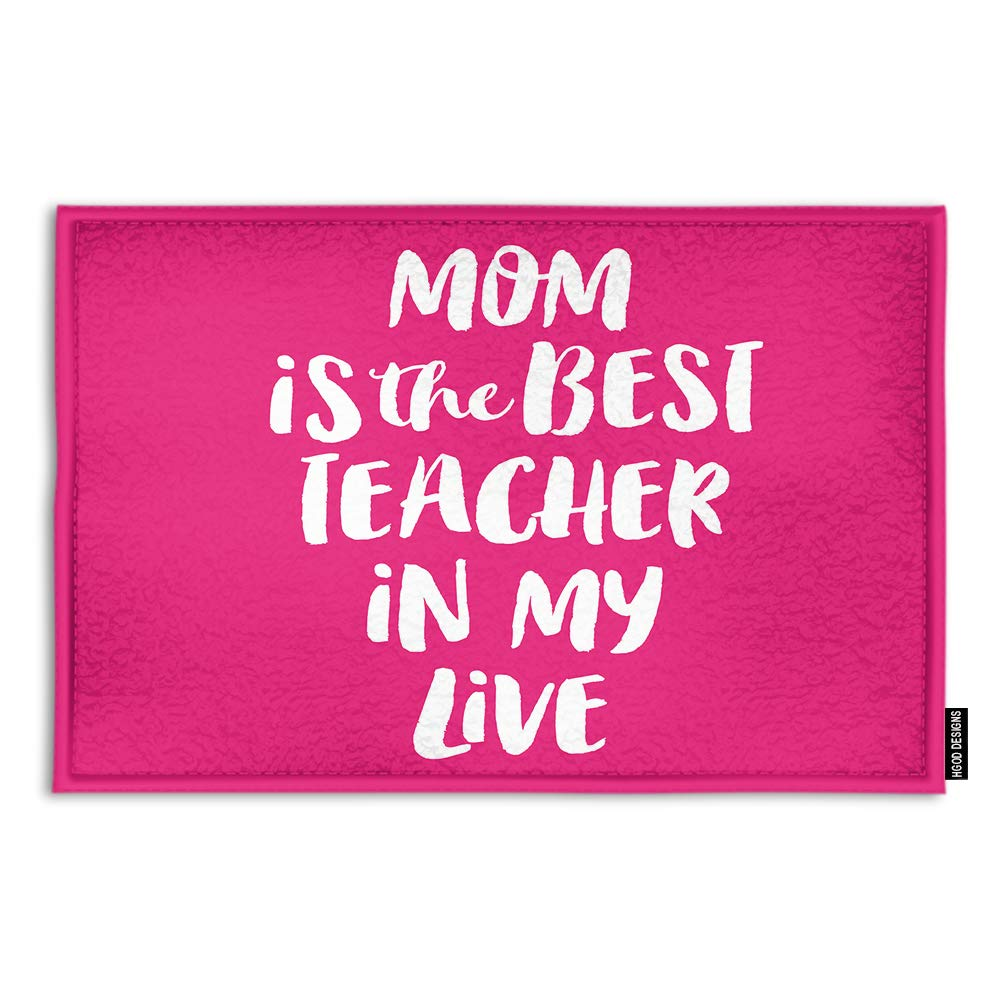 Mom is the best teacher