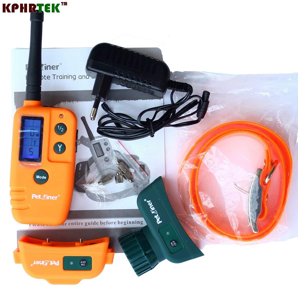 For 1Dog SAATAN Hunter Training and Electronic Beeper Collars Dog Training Collar Rechargeable and Waterproof a910