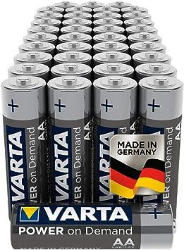 Varta Power On Demand - Pilas alcalinas AA
