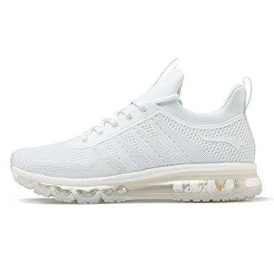 Onemix Air Cushion Sports Running Casual Walking Sneakers Shoes For Men And  Women White 3 B