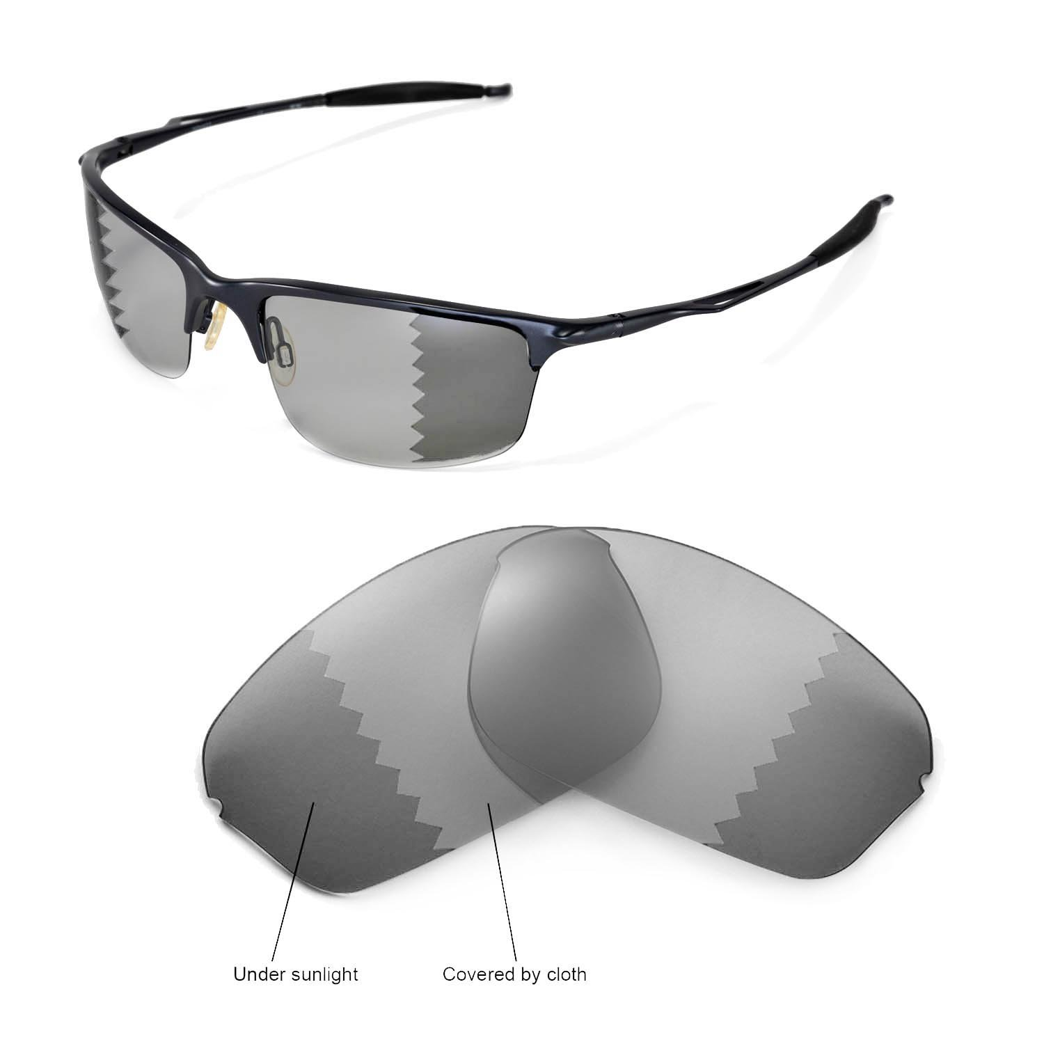 Walleva Replacement Lenses for Oakley Half Wire 2.0 Sunglasses - 12 Options
