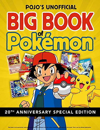 Pojo's Unofficial Big Book of Pokemon cover