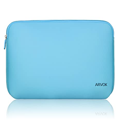Arvok 15-15.6 Inch Laptop Sleeve Multi-Color & Size Choices Case/Water-Resistant Neoprene Notebook Computer Pocket Tablet Briefcase Carrying Bag/Pouch ...