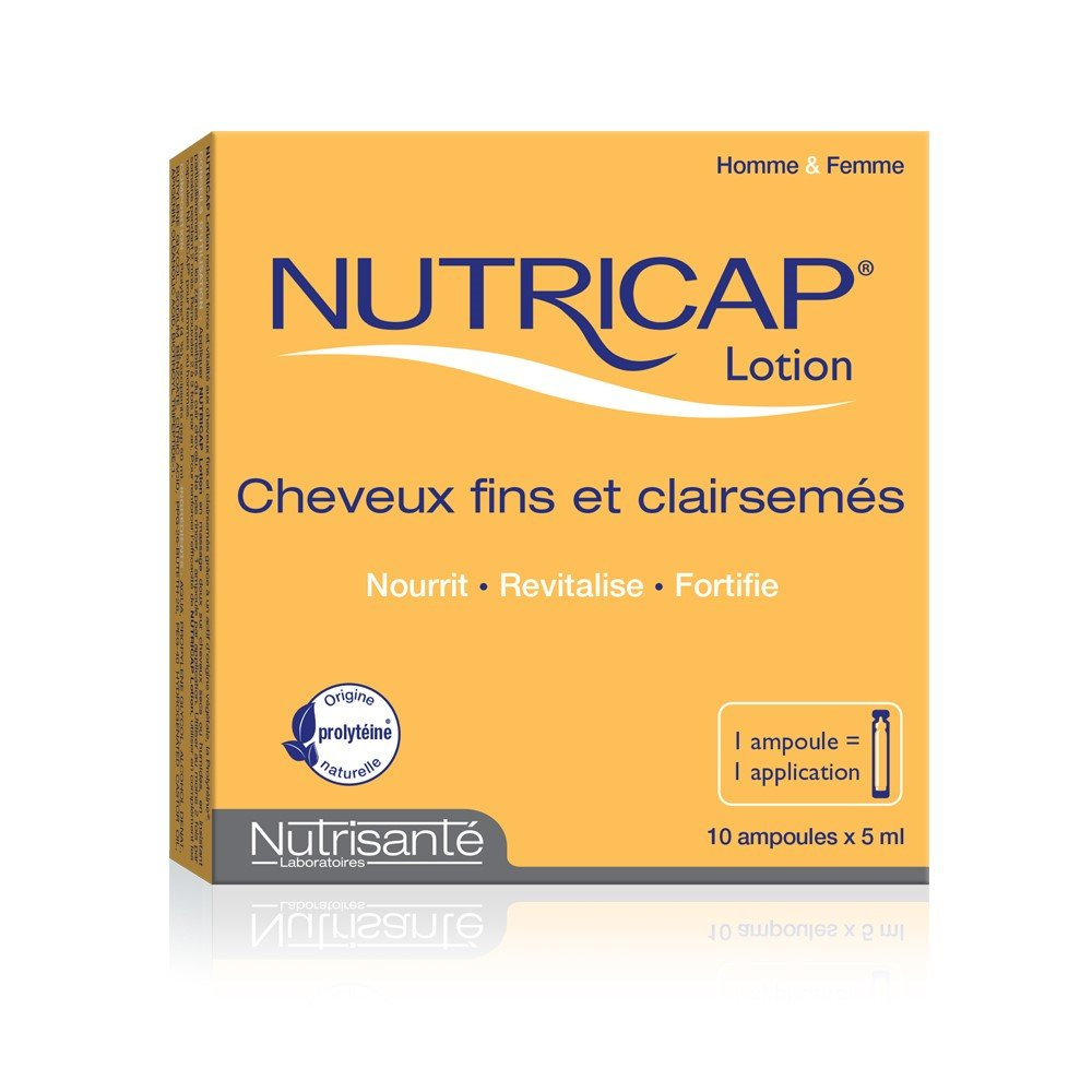 Nutricap Lotion (10 ampoules of 5mL each) Brand: Leritone
