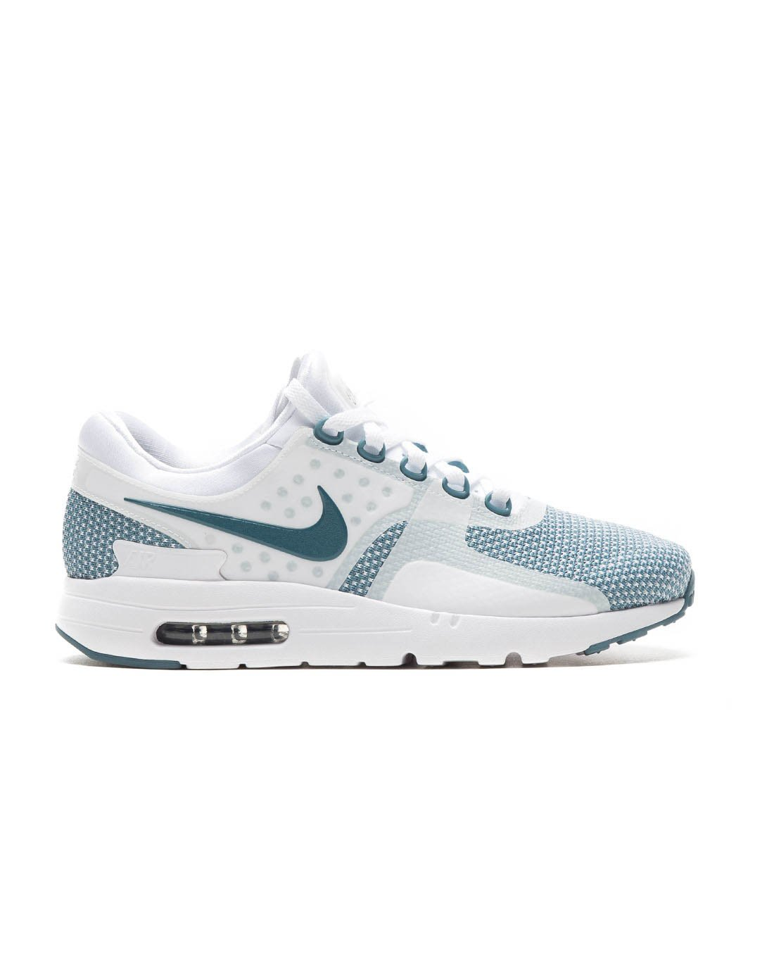 Nike Men's Air Max Zero Essential BlueWhiteObsidian 876070 003 (Size: 12)