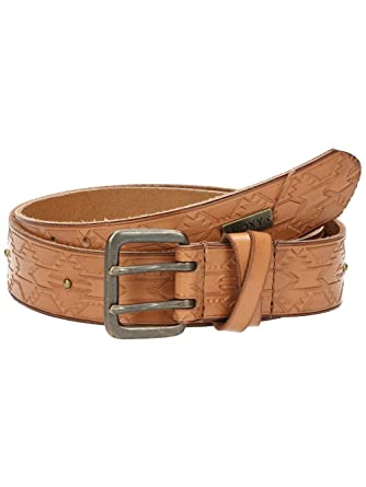 0b7642065ee Roxy Lost Rivers - Leather Belt - Ceinture en cuir - Femme - M - Marron   Amazon.fr  Vêtements et accessoires
