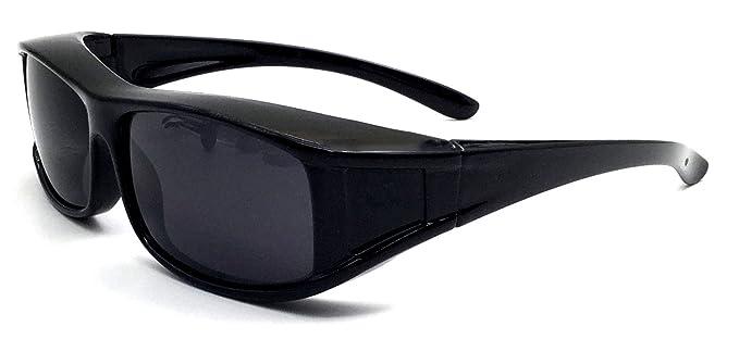 Überzieh-Nachtsicht-brille Unisex Polarisiert UV380 für Brillenträger Fit-Ov