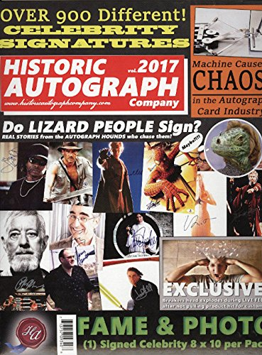 2017 Historic Autographs Fame & Photo 8x10 Autographed Photograph (Miscellaneous Photos Autographed)