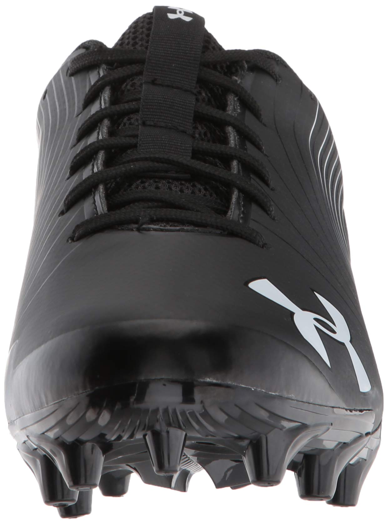 Under Armour Men's Speed Phantom MC Football Shoe Black (001)/White 6.5 by Under Armour (Image #4)
