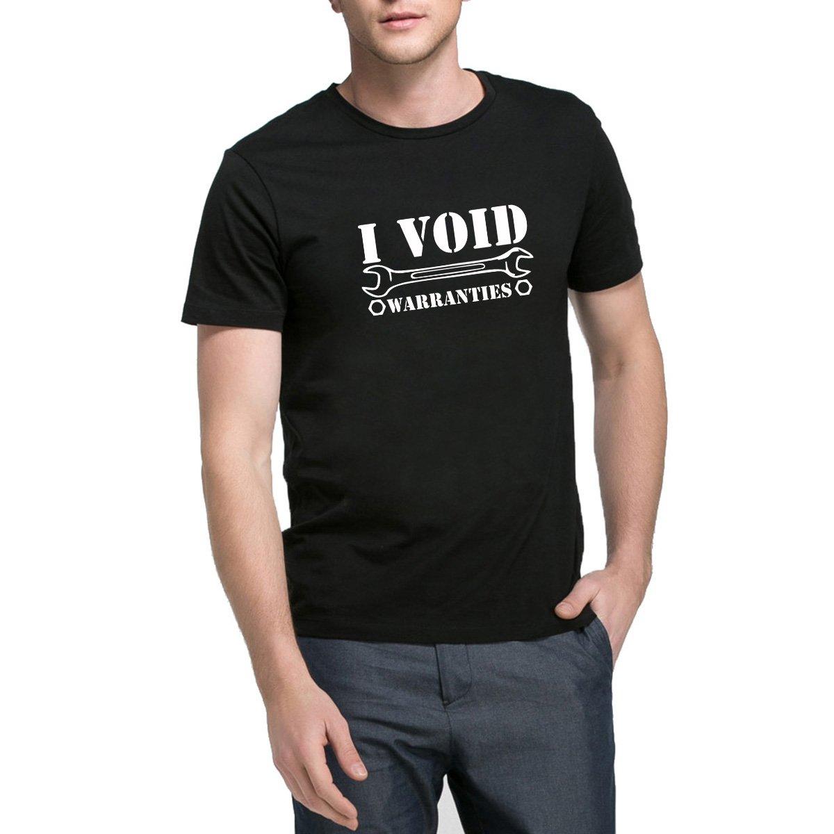 Loo Show I Void Warranties Casual T Shirts Funny Tee
