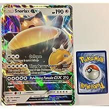 Pokemon GX Promo Card Holo Rare SNORLAX GX SM05 JUMBO CARD