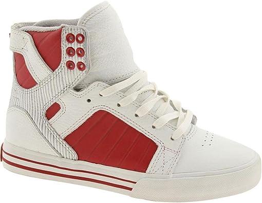 Supra Muska Skytop (White/red