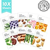 The Face Shop Real Nature Facial Mask Sheet (10 Count) - NEW 2017