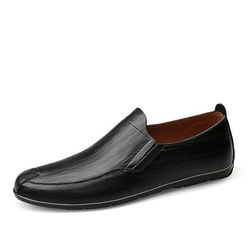 Mocasines Hombre Formal Moda Boda Artesanal Antideslizantes Negocios Zapatos Originales: Amazon.es: Zapatos y complementos