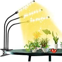 LED Grow Light for Indoor Plants, 198 LEDs Plant Grow Lights with Full Spectrum, Timing Function, 9 Dimmable Levels, 360…