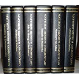 Matthew Henry's Commentary on the Whole Bible, Six (6) Volume Set (ISBN:0917006216)