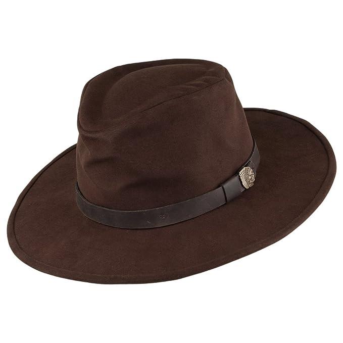 21d97beb19505 Brixton - Sombrero de vestir - para hombre marrón X-Large  Amazon.es  Ropa  y accesorios