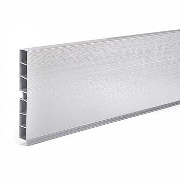 1 5m Kuchensockel Aluminium 150mm Sockelleisten Kuchen Sockelsystem