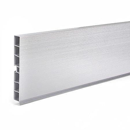 1 5m Kuchensockel Aluminium 100mm Sockelleisten Kuchen Sockelsystem
