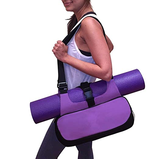 Tutoy Yoga Mat Canvas Bag Mochila Multifuncional Shoulder ...